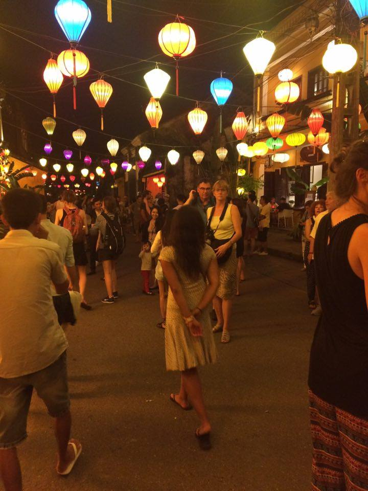 Walking down the streets of Hoi An Photo cred to Dianna Ros