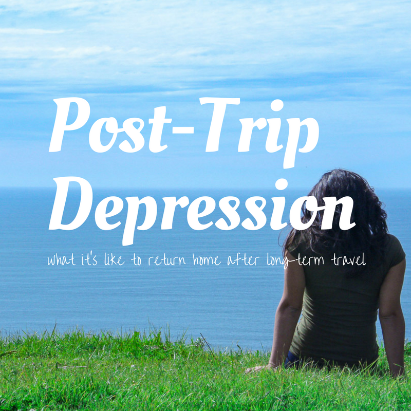 post trip depression and what it's like
