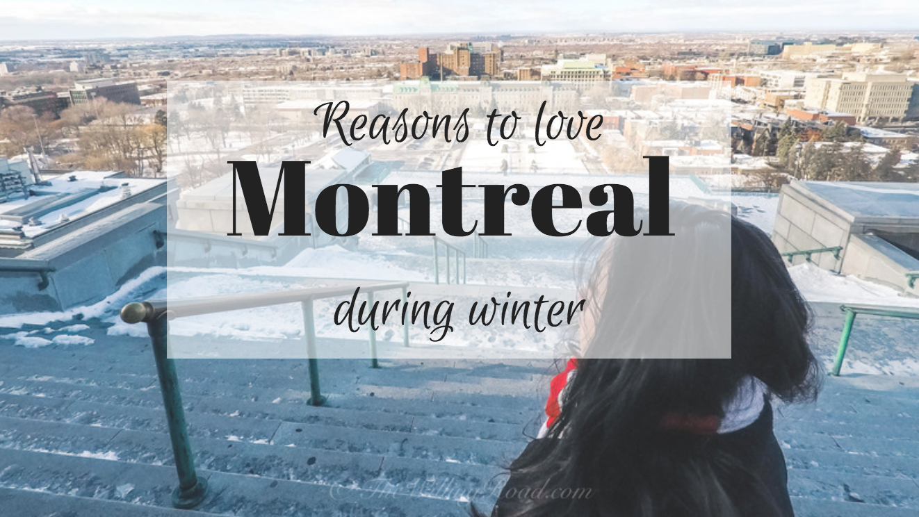 solo female travel to Montreal in Winter