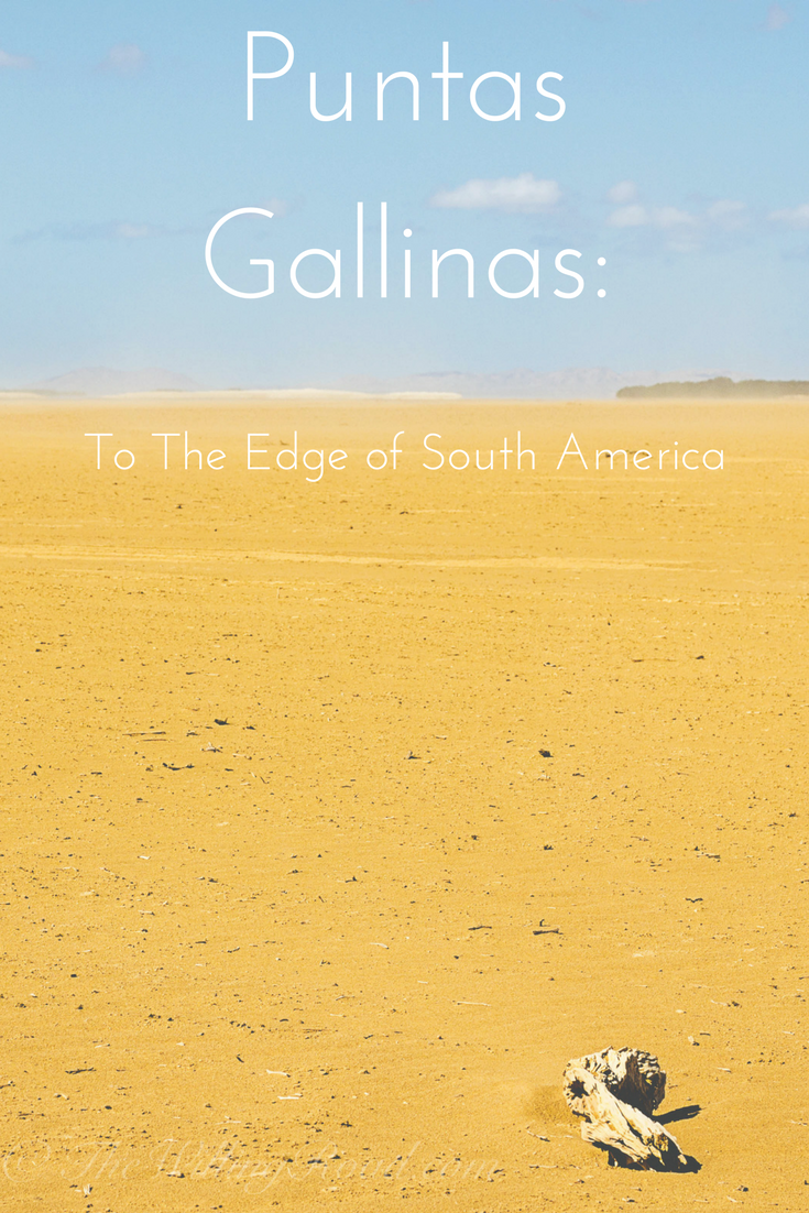 Puntas Gallinas in Cabo de la Vela, La Guajira, Colombia is worth the trip for solo female travelers