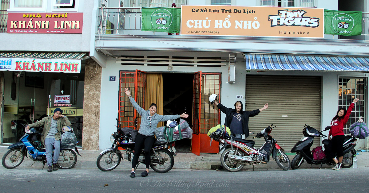 Girls Traveling Vietnam by Motorbike Part 3: Dalat to Quy Nhon