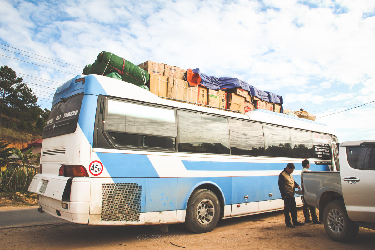 The 30 Hour Bus Ride From Hanoi to Luang Prabang